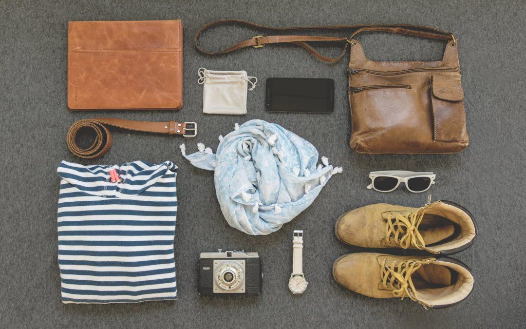 Como organizar malas, bolsas e mochilas para viagem.