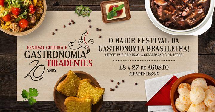 Festival de gastronomia em Tiradentes – MG